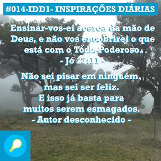 #014-IDD1- Ideia do Dia 1