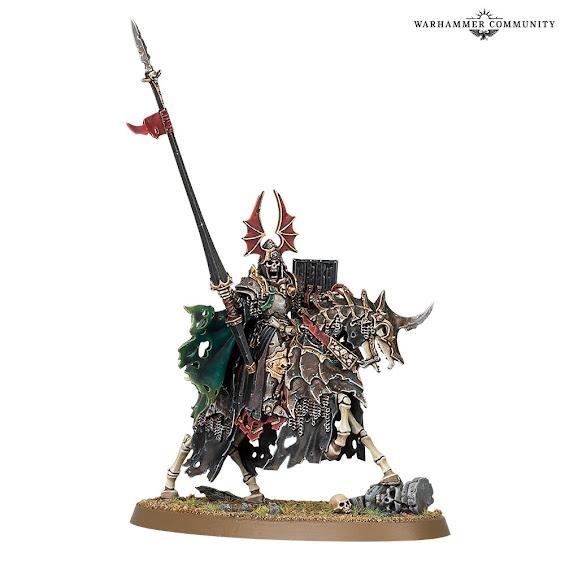 Rey Tumulario montado
