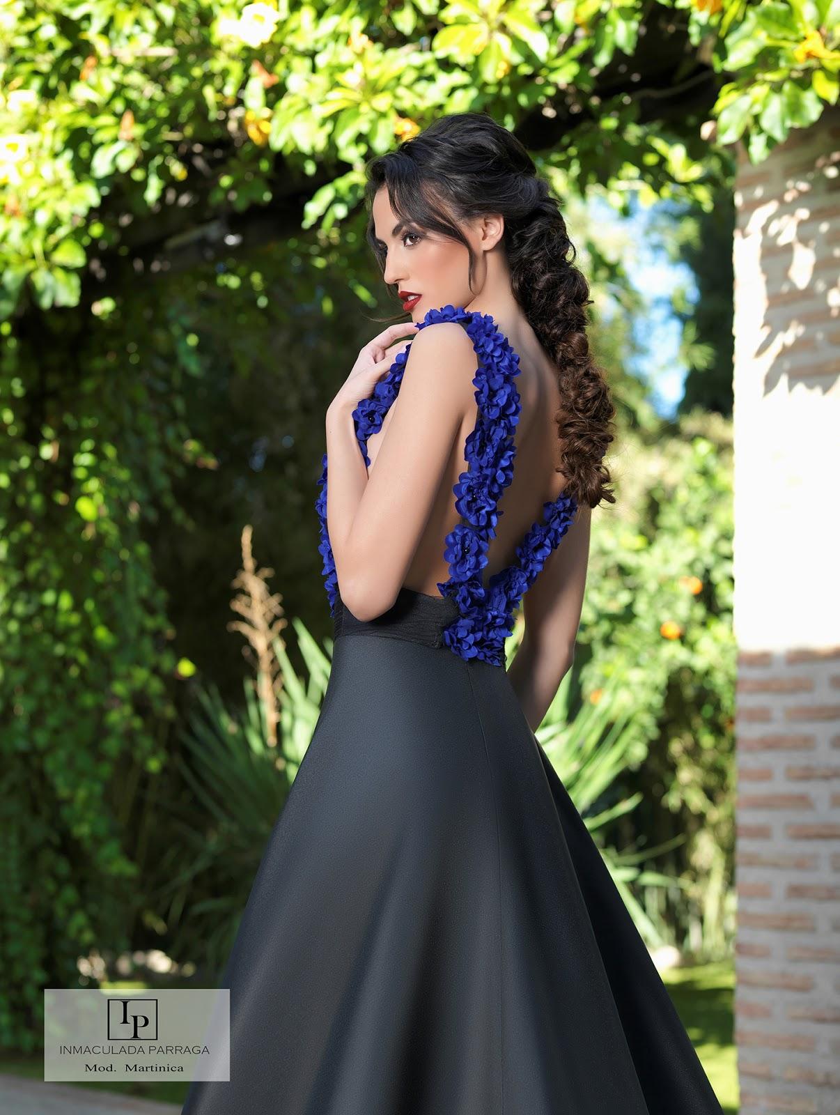 70068e1594 Alta confeccion de vestidos de fiesta en Murcia - Inmaculada Parraga ...