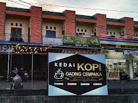 Kedai Kopi Gading Cempaka, Tempat Ngopih Asik di Tengah Kota Bengkulu