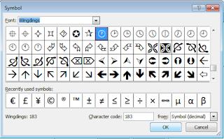 kotak dialog symbol