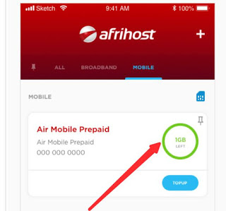 Get 1GB For Free MTN Data Via Afrihost App