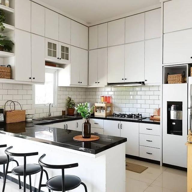 Desain Dapur Minimalis Bentuk U Terbaru