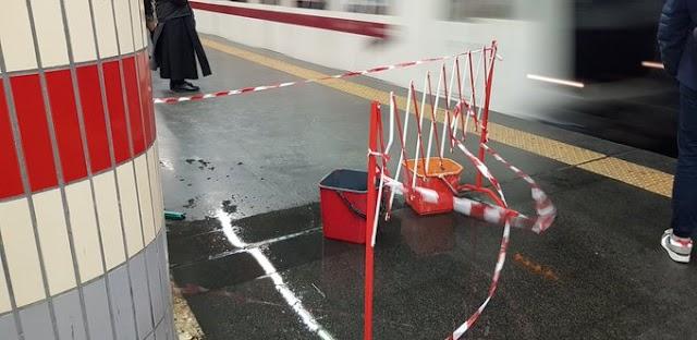 La metro A la mattina va in una sola direzione: La morte!