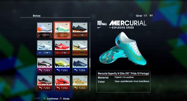 Nike Mercurial Superfly Ronaldo 2017-2018 PES 2013