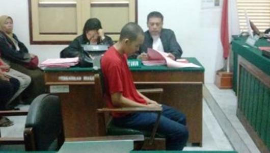 Warga Ciamis Penyebar Video Hoaks Surat Suara 01 Dicoblos di KPU Medan Diadili
