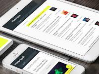 Download Template Materispot Blogspot