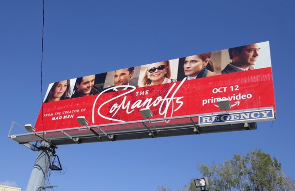 Romanoffs series billboard