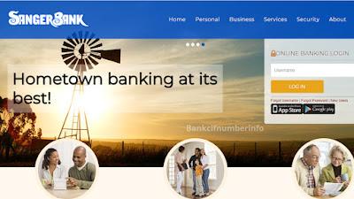Sanger Bank Online login