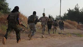 Pertempuran Sengit Terjadi di Suriah Barat Laut, Hampir 100 Kombatan Tewas