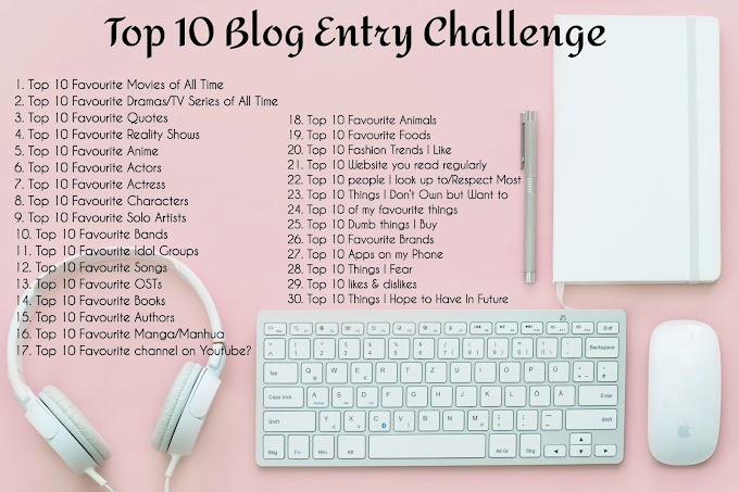 Mulakan Top 10 Blog Entry Challenge