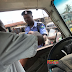 (PHOTOSPEAK) See The Face Of A Policeman Caught Collecting Bribe Today