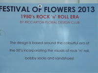 Rock and roll panel, Festival of Flowers - Christchurch Botanic Gardens, New Zealand