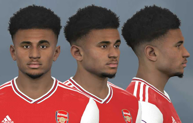 PES 17 Reiss Nelson Face by WER