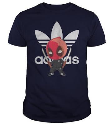 deadpool adidas t shirt, deadpool adidas shirt, deadpool adidas jumper