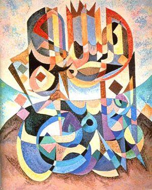 أعمال الفنان التونسي نجيب بلخوجة