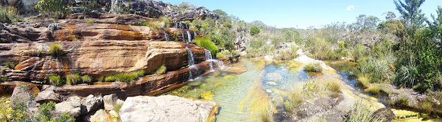 Cachoeira do Sentinela, Vila do Biribiri, Diamantina, Minas Gerais, Caminho dos Diamantes, Estrada Real
