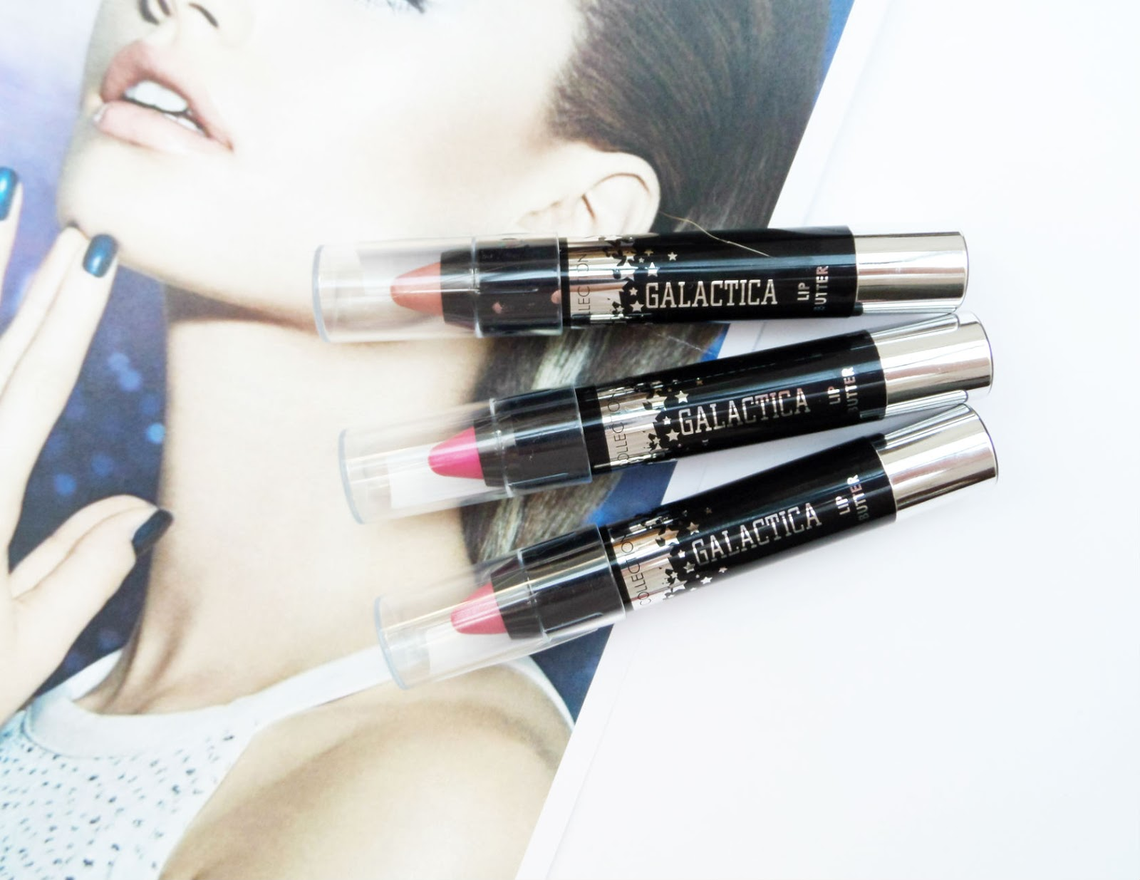 Collection Cosmetics Galactica Range Lip Butters