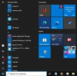 Homescreen windows10