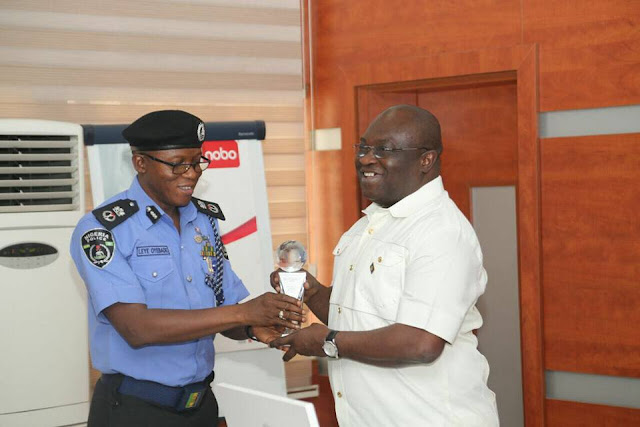 Abia State:  Ikpeazu receives award as Best Governor on Security Matters