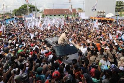 Rakyat Merauke Menyambut Prabowo Dengan Penuh Cinta