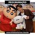 PROGRAMAÇÃO - AIBA VIRA PERSONAGEM NO ANIME CRAYON SHIN-CHAN!