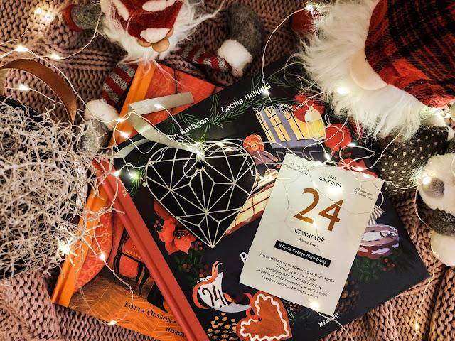 Literacki kalendarz adwentowy - najpiękniejsze świąteczne książki dla dzieci podzielone na 24 rozdziały