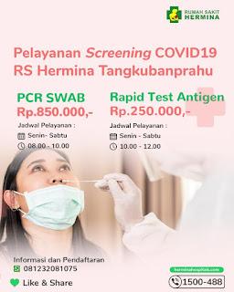 daftar biaya tes swab pcr dan antigen covid 19 di malang www.tikacerita.com