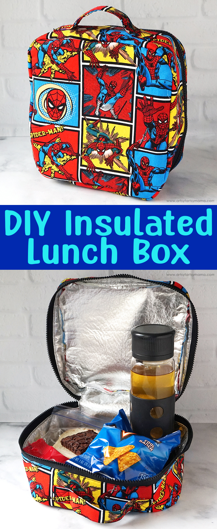 DIY Insulated Lunch Box