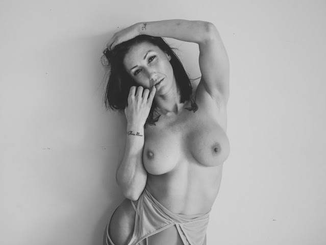Busty Woman Topless Nude Photography