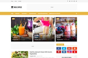 Recipee - Responsive Blogger Template