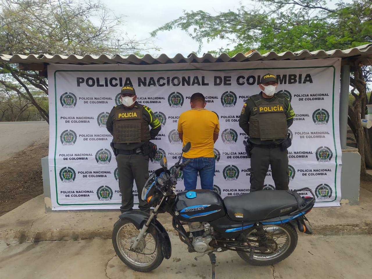 hoyennoticia.com, Pillados con motos chimbiadas en Riohacha y Maicao