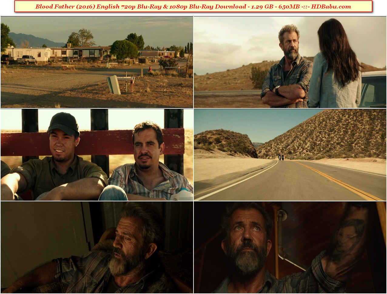 Blood Father English Full Movie Download