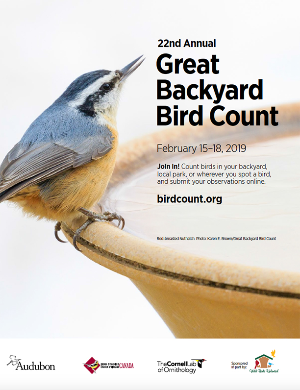 Wild Birds Unlimited: About the Great Backyard Bird Count ...