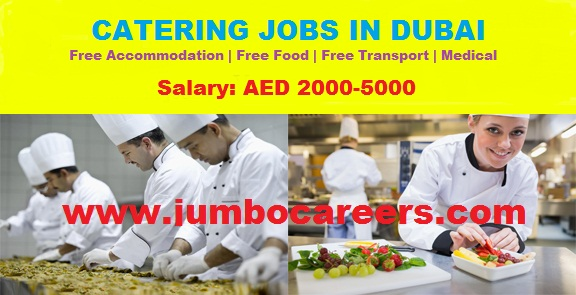 catering jobs in dubai latest, driver jobs for catering company in dubai