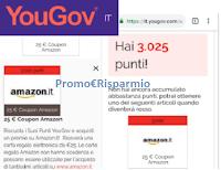 Logo YouGov : riscattati altri 25€ buono Amazon ! scopri anche tu il Panel di sondaggi retribuito