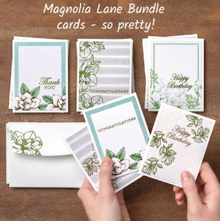 Magnolia Lane Card Bundle finished cards