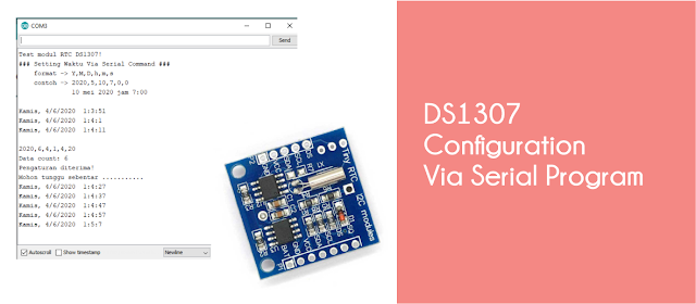 Setting DS1307 over Serial monitor