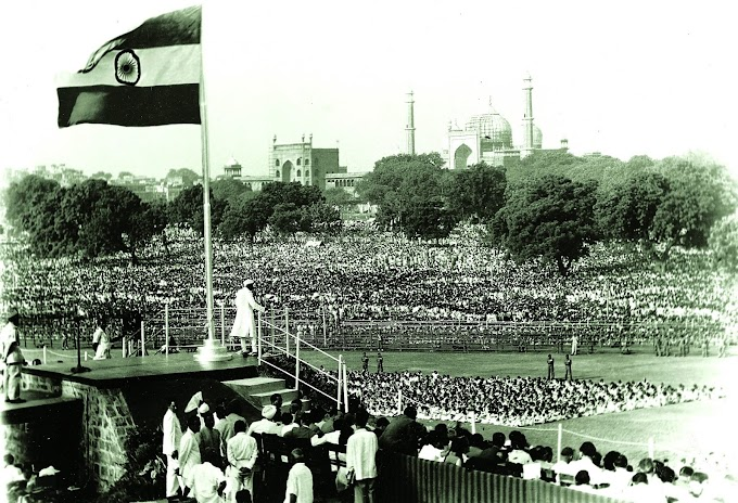 Rare Photos Of India's First Independence Day August 15, 1947