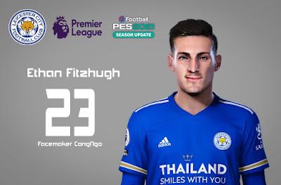 PES 2021 Faces Ethan Fitzhugh by CongNgo