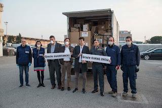 Interporto Padova cura l'arrivo di 300 mila mascherine