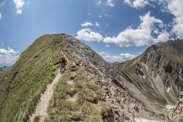 MTB, Downhill Pfunderer Berge Brixen Seefeldspitze Mountainbike