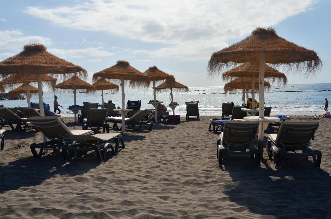 Teneryfa pogoda, plaża