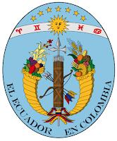 1830 Escudo del Ecuador historic national emblem