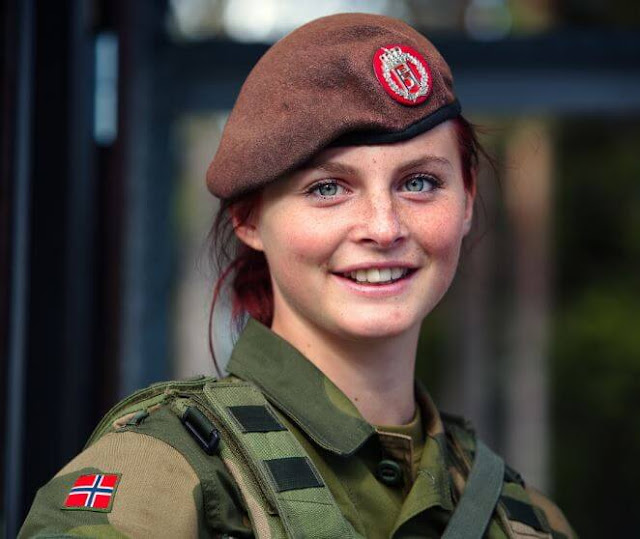 Countries that have the most beautiful armies of women