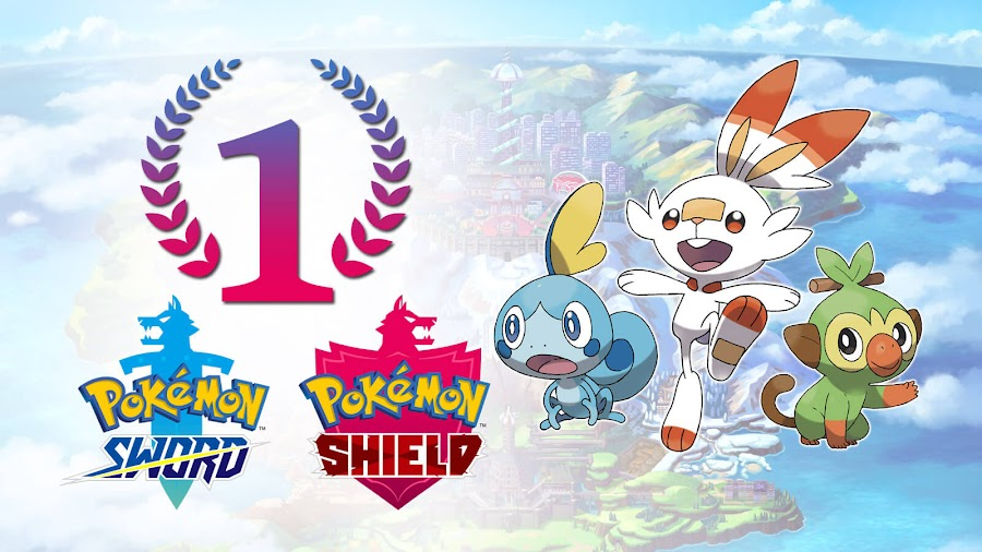 pokémon sword and shield fastest selling nintendo switch game of all time record