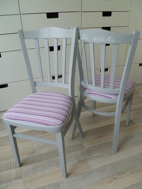 Populair Marly Design: Stoel bekleden / Draping chairs @UX58