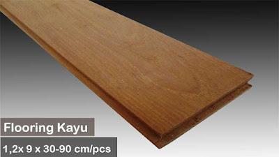 flooring kayu jati medan