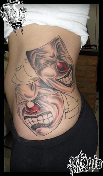 Tatuagem Ri Agora Chora Depois
