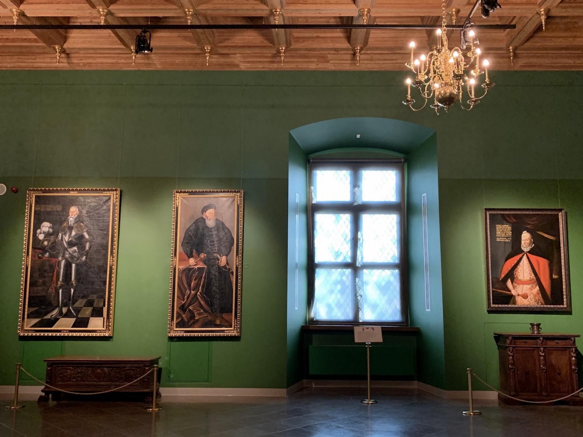 I renesansinė antikamera Valdovų rūmuose